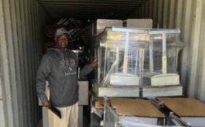 Philemon Visits Colorado and Supplies Shipped to Onjinyo!